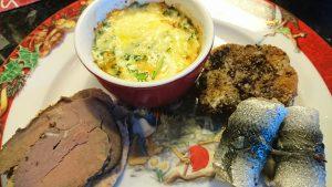 Äggkokott med ruccola