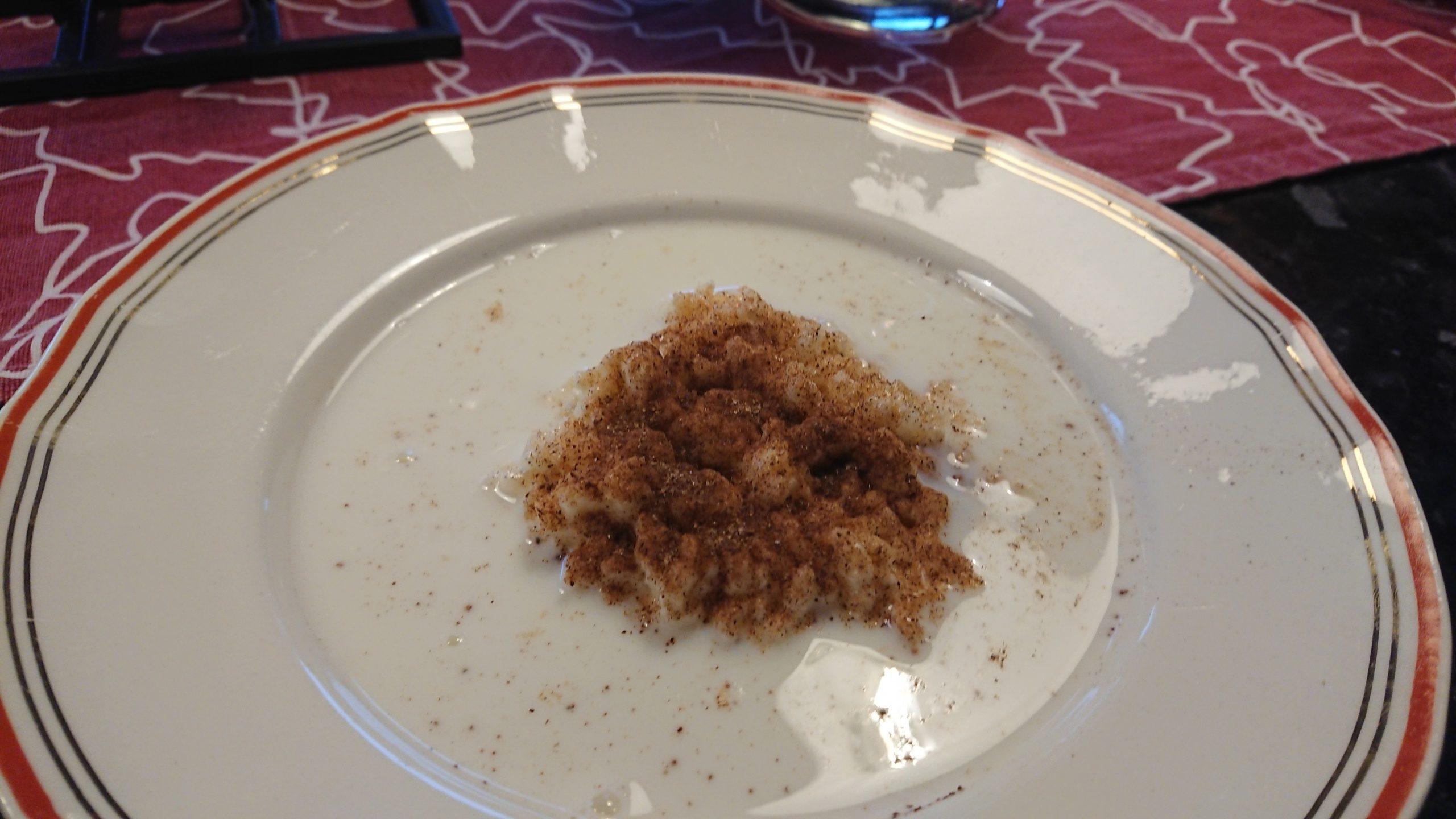 Julbrunch med mormors risgrynsgröt