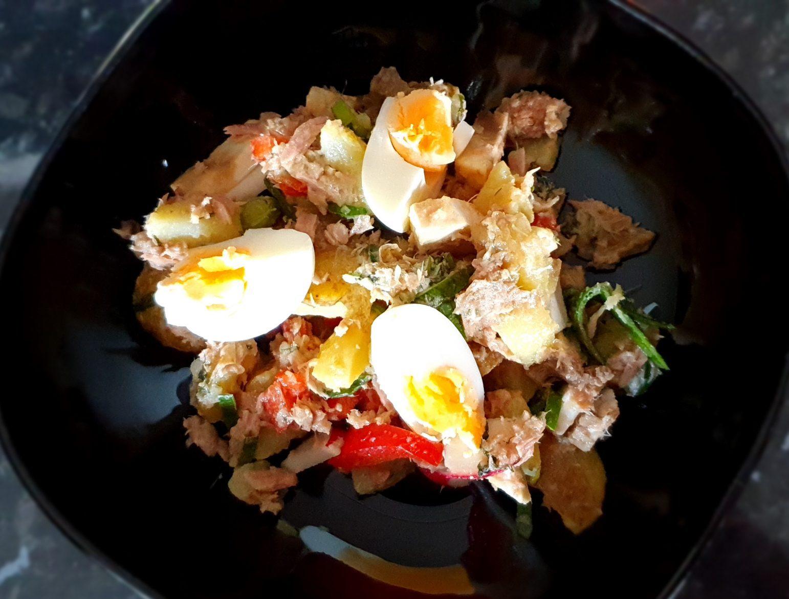 Tonfisk – och potatissallad